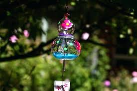 gourd glass wind chimes chinese for