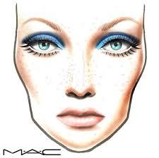 Mac Face Chart Makeup Face Charts Mac Face Charts
