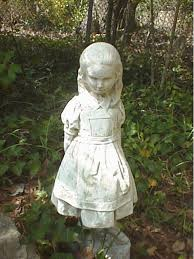 garden statues alice and