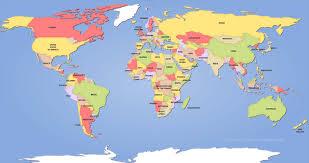 political world maps new the worlds map  besttabletforme