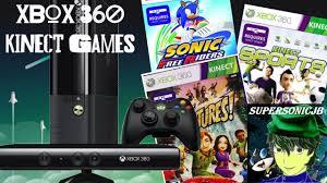 Xbox 360 Kinect Games - YouTube