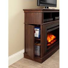 whalen a fireplace console for tvs up to 45 rustic brown com