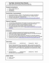 Ms Office Resume Templates - Gcenmedia.com - Gcenmedia.com