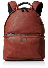 men s canvas and leather backpack