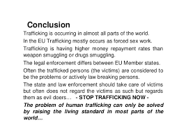 public service announcement human trafficking the modern day slave 14 conclusion trafficking