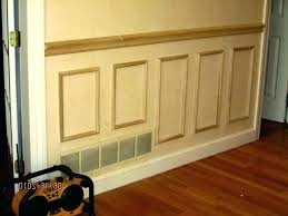 wainscoting