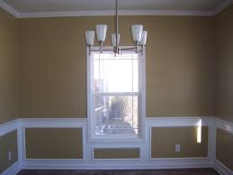 Dining Room Color Schemes Chair Rail - Interior Design