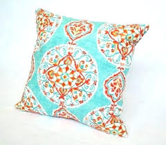 teal throw pillows. Teal And Red Throw Pillows Coral X Medallion Pillow Aqua Turquoise H