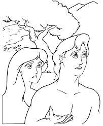 Small Picture Free adam and eve coloring pages printable ColoringStar