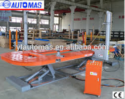 european standard cost effective mechanical work equipment car chis straightening bench