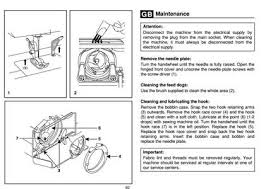 Singer Sewing Machine E99670 Manual