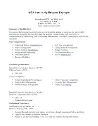 Internship Resume Objective Accounting Example For Cover Letter Law