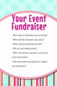 Flyers For Fundraising Events 22 820 Customizable Design Templates For Vendor Event Postermywall