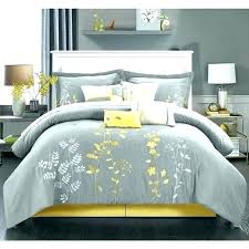 pale yellow comforter sets set grey and gray com