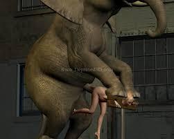 Girl fucking elephant cock