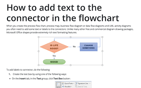 Create Process Flow Chart In Word Microsoft Word 2016 Graphics Tips And Tricks