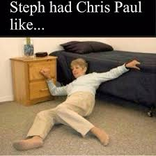 DAMMMM! Best Memes Immortalizing CP3 Getting His Ankles Broken ... via Relatably.com