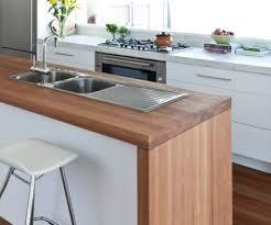 Wooden kitchen bench Floorboards Timber Benchtop Wooden Benchtop Kitchen Wooden Kitchen Bench White Kitchen Cupboards Timber Kitchen Pinterest Timber Benchtop Kitchens In 2019 Kitchen Timber Kitchen