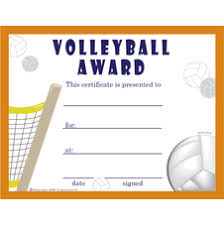 volleyball certificate template volleyball certificate templates free archives hashtag bg