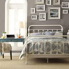 White Wrought Iron Beds: Amazon.com