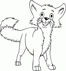 Small Picture Best Baby Fox Coloring Pages 92 7392