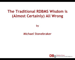 Slideshot Watching Prof Michael Stonebraker Mit One