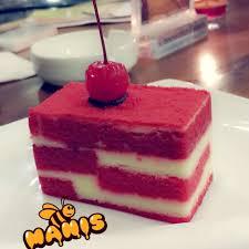 Red Velvet Cake Cheese Cake Factory Roti Kue Cilandak