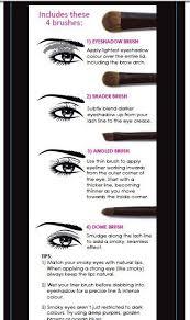 types of eye makeup brushes. smokey eye tips tutorials types of makeup brushes