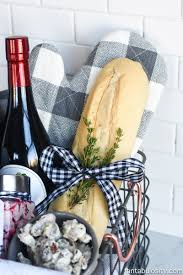 Hostess Gift Hostess Bread Basket Gift Idea Fantabulosity