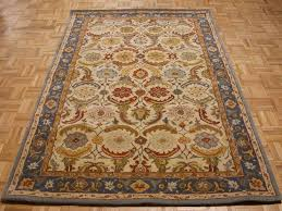 smart carpet barn inspirational 8 x10 pottery barn eva beige blue persian style new hand tufted