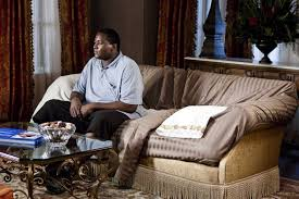 "the blind side of the blind side the macguffin men 00 23 35 i m pretty sure the direction given to quinton aaron before every take was ""yeah but can you do it again while looking way sadder"