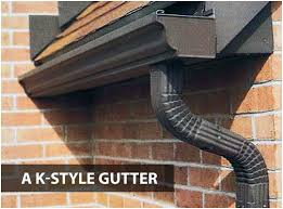 4 inch gutters. Simple Gutters Basing On The Recommendation Above Getting A 6inch Gutter Would Be Best  Additionally Get Downspout That Is At Least 3 Inches In Diameter Inside 4 Inch Gutters T