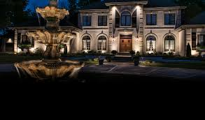 custom landscape lighting ideas. Fountain \u0026 Pond Lighting Custom Landscape Ideas O