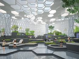 Recreational Space Design Communication And Recreational Space Ecosystem Space