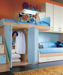 bedroom design for teenagers with bunk beds. Fine Teenagers Awesome Bunk Beds And Blue Furniture Color For Girls Bedroom Design Teenagers With G
