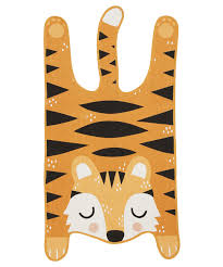 theo tiger rug 62 x 120 cm