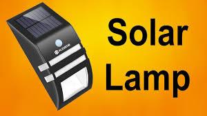 Обзор <b>светильника на солнечных батареях</b> с датчиком движения ...