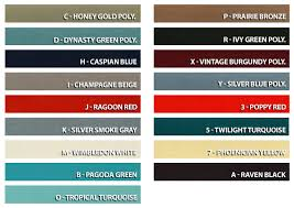 66 Mustang Color Chart 1965 Mustangs 1965 Ford Mustangs Info And Pics Of 65 Mustangs