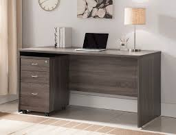 grey home office. bravia rustic grey home office desk