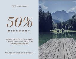 Photography Gift Certificate Template Customize 224 Photography Gift Certificate Templates Online Canva