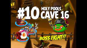 Angry Birds Epic Cave 16 Final Boss! Level 10 - Holy Pools - 3 Star  Walkthrough iOS, iPad, Android - YouTube