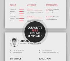 Resume Best Html Resume Templates Cms Awesome Free Resume