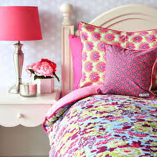 hot pink and lime green bedding designs