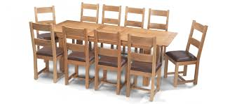 dining table with 10 chairs. Astounding Extending Dining Table And Chairs At Constance Oak 180 230 Cm With 10