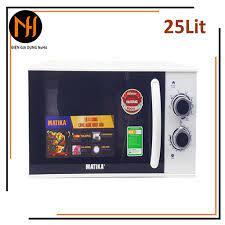Lò vi sóng 25L Matika MTK-9225 có 3 chức năng: Nướng, hâm nóng, rã đông  thức ăn tự cài đặt theo trọng lượng - Lò vi sóng Nhãn hàng MATIKA