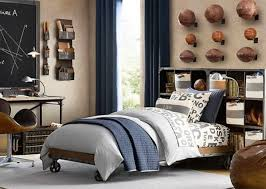 boys bedroom decorating ideas sports. Appealing Sports Themed Boy Bedroom Decorating Idea For Teen Showing Balls Wall Display And Shelf Unit Boys Ideas S