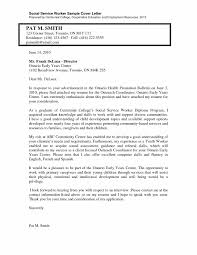 Community Support Worker Cover Letter Sample For Developmental
