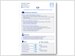Powerpoint Cv Template Free Pptworld