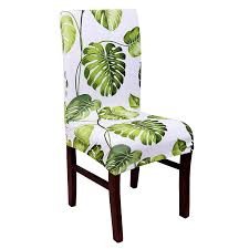 spandex elastic erfly printing chair protector slipcover kitchen dining chair cover removable dustproof decorative seat case in chair cover from home