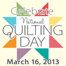 Quilting Day & Moda Friendship Quilt Block #6 - Sylvia's Stitches & Worldwide Quilting Day National Quilting Day Adamdwight.com